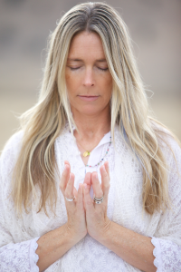 Lotus Mudra (for an open heart)