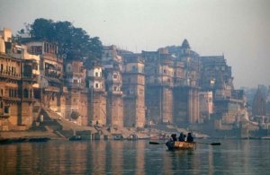 Varanasi, as seen from the Ganges